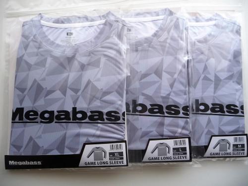 Megabass GAME LONG SLEEVE # White NEW