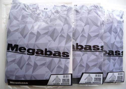 Megabass GAME HOODIE # White NEW