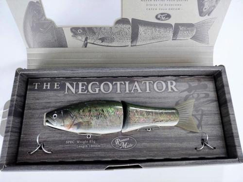 Roman Made NEGOTIATOR PREMIUM Abalone Shell # Natural Bass NEW