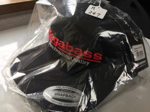 Megabass TRUCKER HAT Black/Red NEW