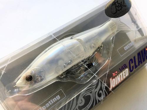 Gan Craft Jointed Claw 148 F Floating #U-06 Crystal Shad NEW