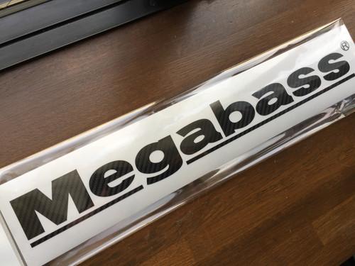 Megabass Sticker Carbon Type 400mm # Black NEW