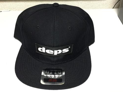 Deps ORIGINAL BOX CAP # Black x Black NEW