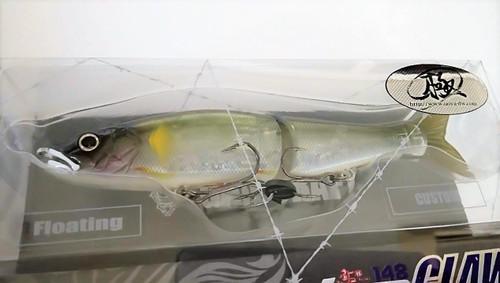 Gan Craft Jointed Claw 148 F Floating #U-12 Satsuki Ayu NEW
