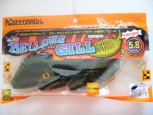 GEECRACK BELLOWS GILL 5.8 #286 Weed Special NEW