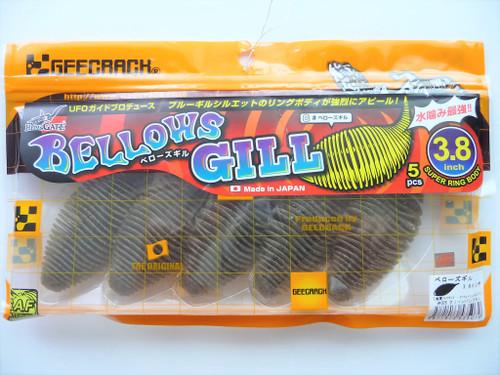 GEECRACK BELLOWS GILL 3.8 #005 Green Pumpkin NEW