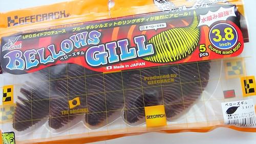 GEECRACK BELLOWS GILL 3.8 #034 Cola Blue Flake NEW