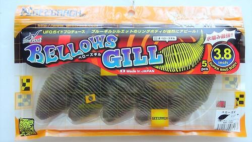 GEECRACK BELLOWS GILL 3.8 #296  Bug Bomb NEW