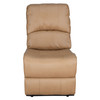 "RecPro Charles 22"" RV Recliner and Drop Down Comfort Console w/ Cup Holders"