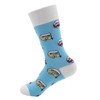RecPro Aqua Retro Trailer Unisex Socks