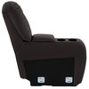"""RecPro Charles 6"""" RV Furniture Comfort Console with Cup Holders and Storage in Ultrafabrics® Brisa®"""