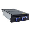 RV Two Burner Gas Cooktop with Cover