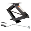 """24"""" RV Stabilizing and Leveling Scissor Jack  7,500 lbs  Pair with Handle"""