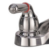 RV Bathroom Sink w/ Brushed Nickel Faucet