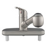 Kitchen Pull Out RV Faucet with Deck Brushed Nickel