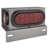 "LED RV Steel Housing Box with 6"" Oval Tail Light and 2"" Marker Light"