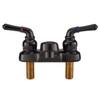 "4"" Lavatory RV Faucet - Black"