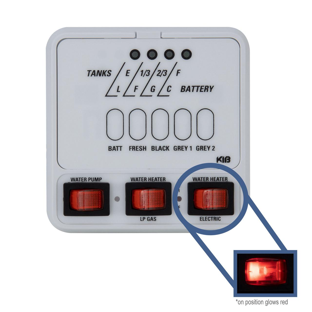 [DIAGRAM_38EU]  RV KIB Tank Sensor Monitor Panel M25 with Wiring Harness Kit - RecPro | Jrv Monitor Panel Wiring Diagram |  | RecPro