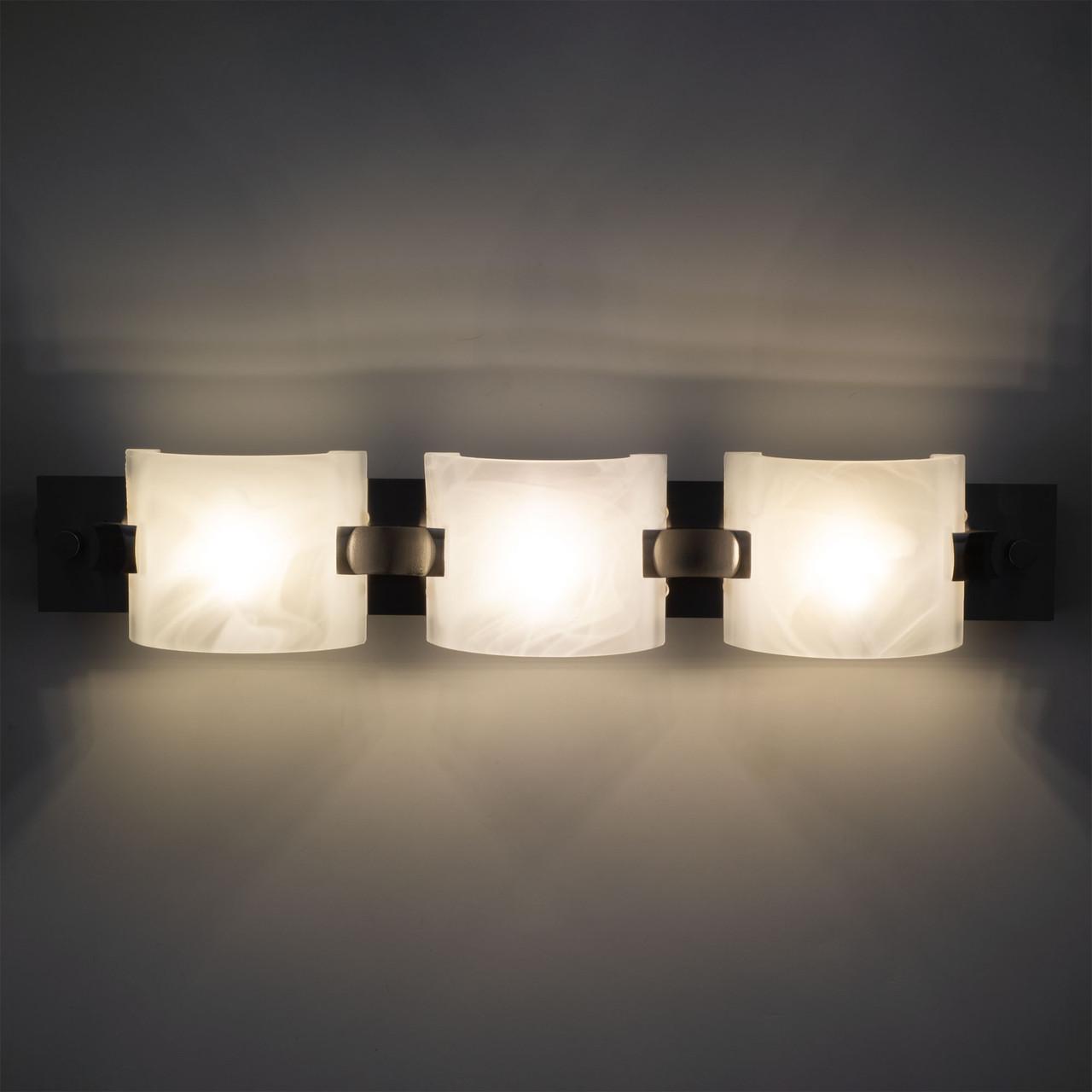 18 Rv Vanity Light 12v Led Brushed Nickel Recpro