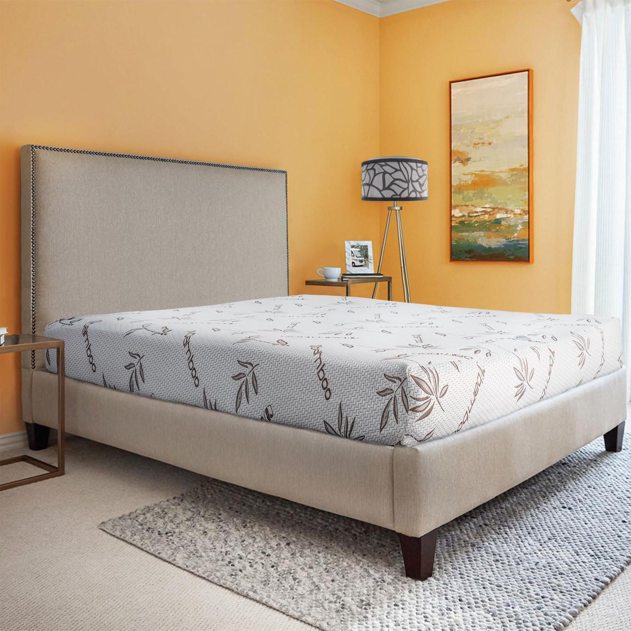 Rv Bunk Bed Mattress Memory Foam Gel Infused Cooling Layer Bunk