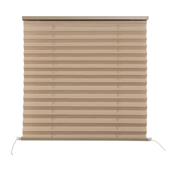 RV Pleated Shades Cappuccino with Quick Mount Rail