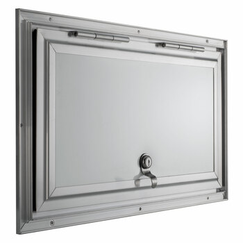 """Square RV Baggage Door and Compartment Storage 18""""w x 10""""H"""