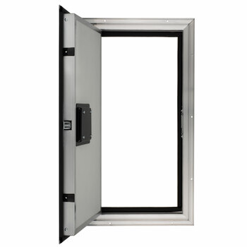 """Square RV Baggage Door and Compartment Storage 12""""w x 24""""H"""