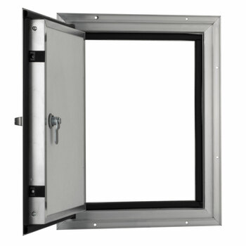 """Square RV Baggage Door and Compartment Storage 12""""w x 16""""H"""