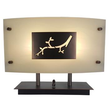 RV Decorative Light Fixture 12V LED with Flower Insert