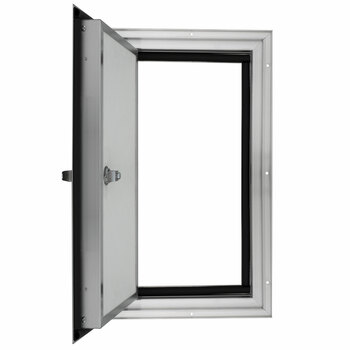 """Square RV Baggage Door and Compartment Storage 12""""w x 18""""H"""