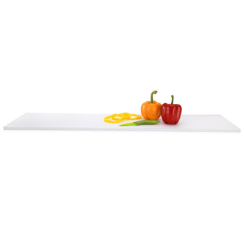 "Concession Stand Cutting Board 36"" White"