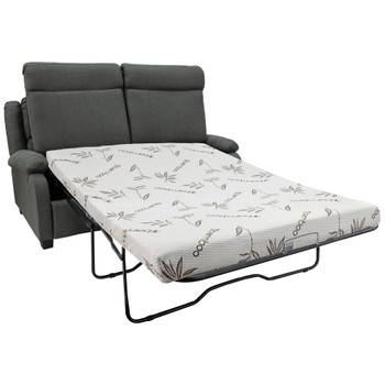 """65"""" RV Sleeper Sofa with Hide-a-Bed Fossil Cloth"""