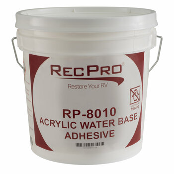 RecPro 8010 Water-Based RV Rubber Roof Adhesive