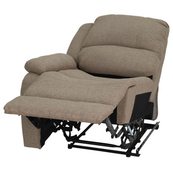 "RecPro Charles 29"" Left Arm Recliner Modular RV Furniture Reclining Luxury Lounger in Cloth"