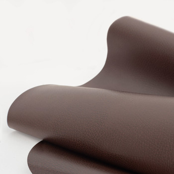 Mahogany RecPro RV Suprima Leather Fabric by the Yard
