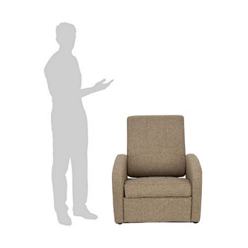 RV Gaming Chair Ottoman Conversion in Cloth