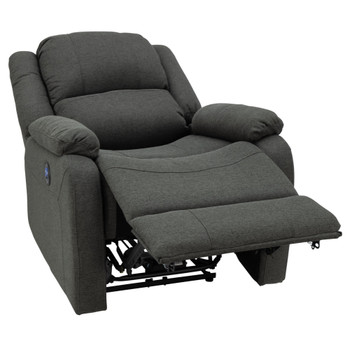 "RecPro Charles 30"" Powered RV Wall Hugger Recliner in Cloth"