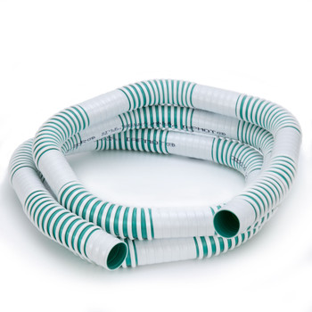 """RV Fresh Water Fill Hose 1 1/4"""" Ribbed with Smooth Sections"""