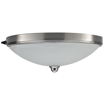 RV Ceiling Light 12V LED Nickel Finish