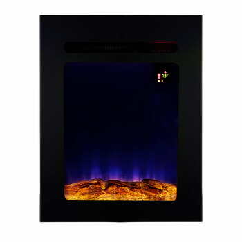 """18"""" RV Electric Fireplace with Flame Color Settings"""