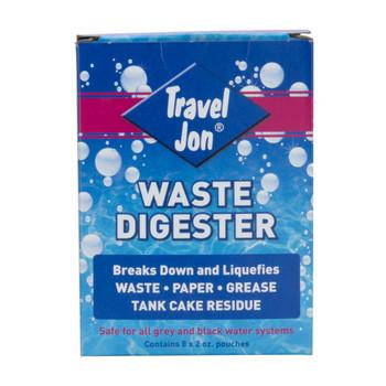 Travel Jon Waste Digester RV Holding Tank Treatment and Deodorizer