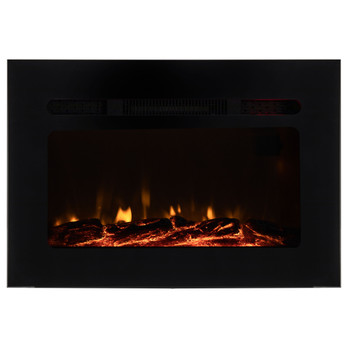 "RV Electric Fireplace 26"" with Flame Color Settings"