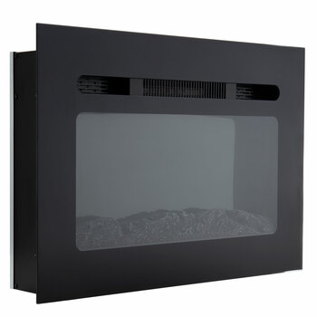 """RV Electric Fireplace 30"""" with Flame Color Settings"""