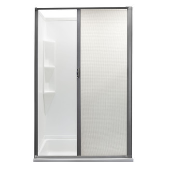 Custom Retractable Shower Door