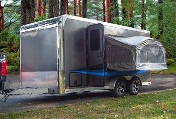Door Bed Pop-Out Trailer Bed Towable Tent