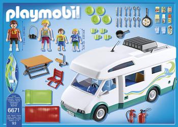 RV Summer Camper Playmobil Set