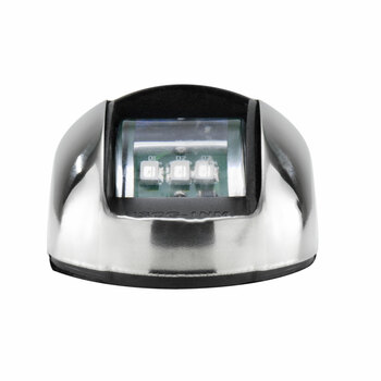 12V Side Mount LED Navigation Light Set Red/Green