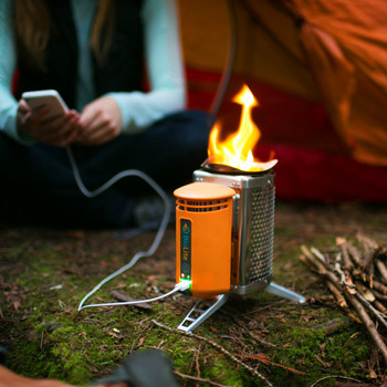 Biolite Wood Burning Electricity Generating & USB Charging Camp Stove