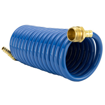 RV Exterior Shower Hose 15' Coiled Hose