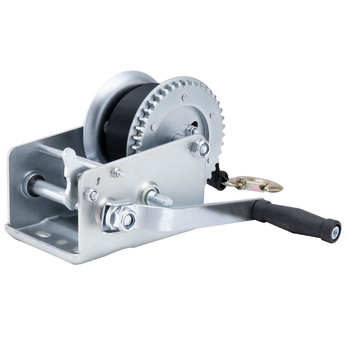 Heavy Load Trailer Winch 3200 lbs. Capacity Surface Mount